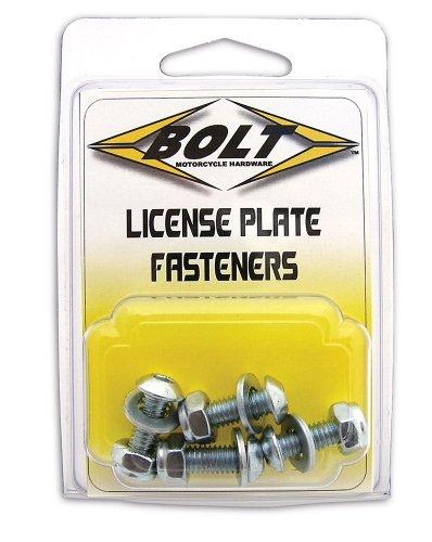 Bolt Motorcycle Hardware 2007-LPF License Plate Fastener Kit