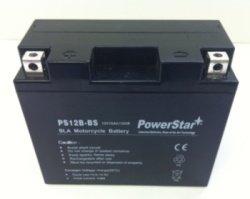 PowerStar¨ Replacement TMS AGM Yt12b-bs Battery for Yamaha Fz6 Yzf-r1 R6 Xvs650 V-star Srx600 650 1000 Kawasaki Zx1000c Ninja Zx-10r Zx 1000 Zx10 Zx10r Fz6 Srx600 Yzf-r6 R1 Xvs650 V-star Ducati 998 999 1098 S4 St4 Ss
