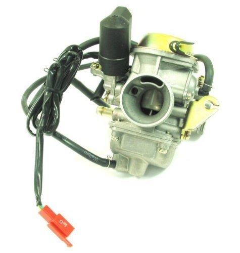 Ketofa GY6 Carburetor GY-6 150CC Carb KAZUMA SUNL 149CC 24mm Electric Choke E-Clotted Valve for ATV