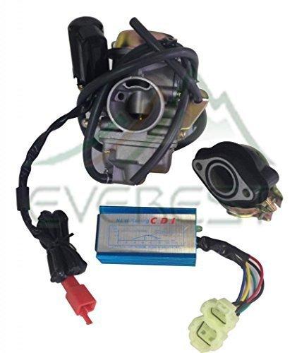 NEW ETON YUKON 24mm 150cc GY6 CARBURETOR MANIFOLD PERFORMANCE CDI ATV QUAD