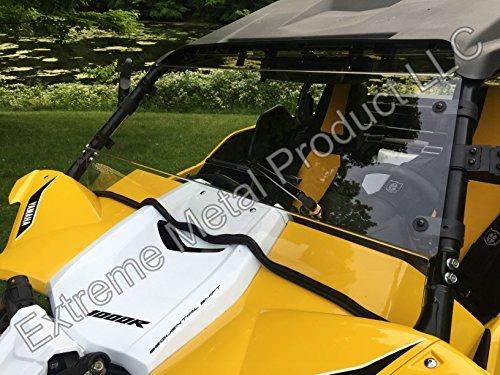 PN13190 Yamaha YXZ Hard Coated Full Windshield -Polycarbonate