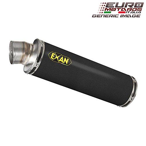 Yamaha R1 2009-2014 Exan Exhaust Silencer X-GP Black Stainless Steel Dual x2 New