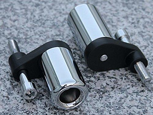 i5 No-Cut Chrome Frame Sliders for Yamaha YZF R1 2007-2008