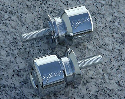 i5Â Chrome Swingarm Spools Sliders for Kawasaki Ninja 250 300 ZX6 ZX6R ZX9R ZX10 ZX10R ZX12R ZX14 ZX14R