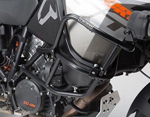 SW-MOTECH Black Upper Crashbars Engine Guards For KTM 1190 Adventure 13-15 1190 Adventure R 13-15 With Factory Crash Bars