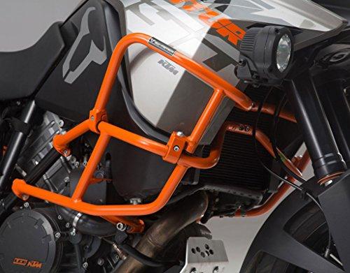 SW-MOTECH Orange Upper Crashbars Engine Guards for KTM 1190 Adventure 13-15 1190 Adventure R 13-15 with Factory Crash bars