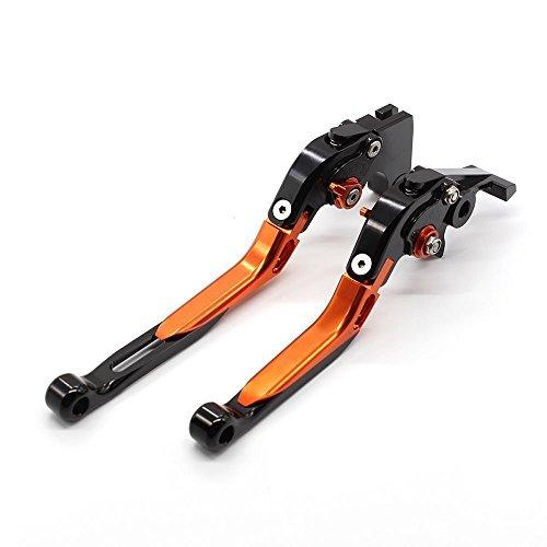 FXCNC Racing Adjustable CNC Folding Extending Brake Clutch Levers Pair Fit For For KTM 990 Adventure 2006-2013950 Adventure 2003-2006640 Adventure 2004-2006