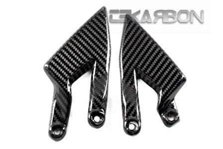 2006 - 2013 KTM Super Duke 990 Carbon Fiber Heel Plates