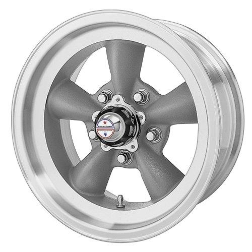American Racing Custom Wheels VN105 Torq Thrust D Torq Thrust Gray Wheel With Machined Lip 15x75x1207mm -6mm offset