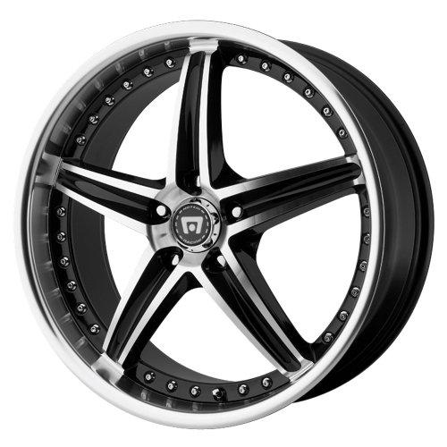 Motegi Racing  MR107 Wheel with Gloss Black Machined 17x755x112mm