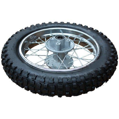 12 Rear Wheel Rim Tire Assembly for 70cc-125cc Dirt Bikes