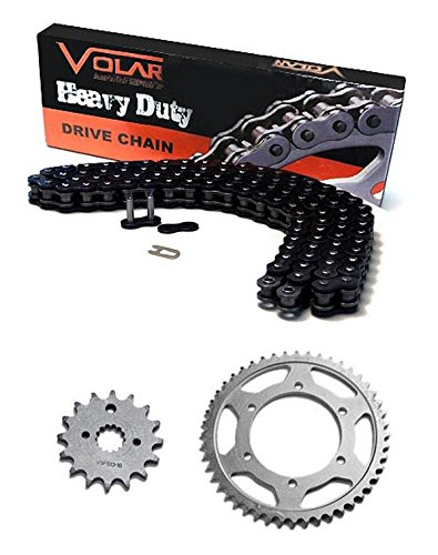 2010-2017 Yamaha YZ450F Chain and Sprocket Kit - Heavy Duty - Black