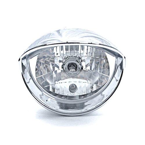 Krator Motorcycle Custom Chrome Headlight Head Light For Harley Davidson V-Rod Night Street V Rod