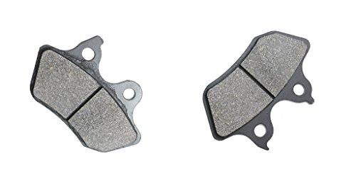 CNBK Front Brake Pad Semi Met fit HARLEY DAVIDSON Street Bike XLH883 XLH 883 Sportster Hugger 00 01 02 03 2000 2001 2002 2003 1 Pair2 Pads