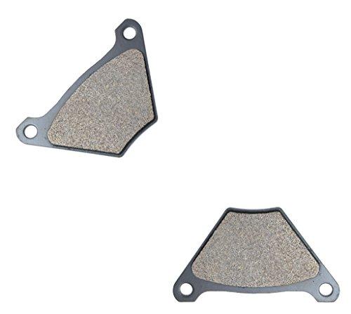 CNBK Rear Brake Pad Semi Metallic fit for HARLEY DAVIDSON Street Bike FX1200 FX 1200 74 75 76 77 78 79 80 1974 1975 1976 1977 1978 1979 1980 1 Pair2 Pads