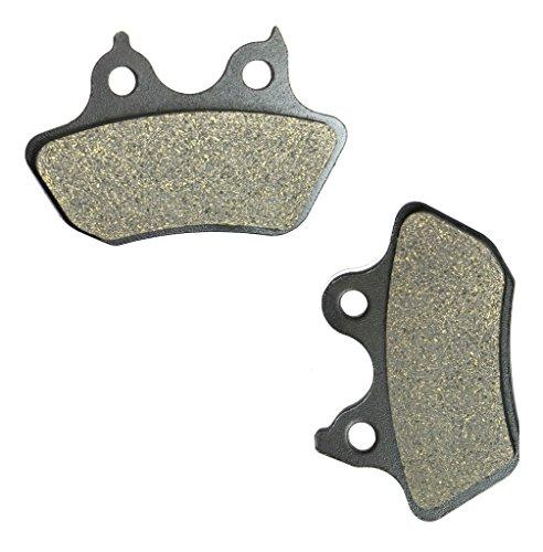 CNBK Rear Brake Pad Semi Metallic for HARLEY DAVIDSON Street Bike FXSTC 1584 Softail Custom 07 07 2007 1 Pair2 Pads