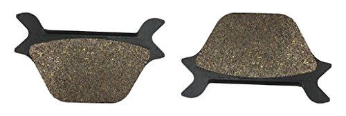 CNBK Rear Brake Pads Carbon for HARLEY DAVIDSON Street Bike FXR1340 FXR 1340 Super Glide - C456 1 90 91 92 93 94 95 96 97 98 99 1990 1991 1992 1993 1994 1995 1996 1997 1998 1999 1 Pair2 Pads