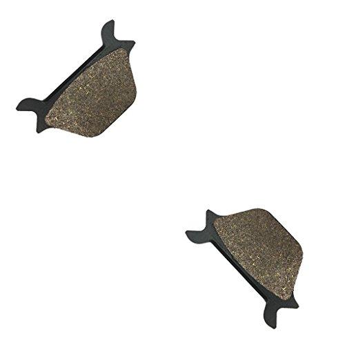 CNBK Rear Brake Pads Semi-met fit HARLEY DAVIDSON Street Bike FLSTC 1340 Heritage Softail Cl 90 91 92 93 94 95 96 97 98 99 1990 1991 1992 1993 1994 1995 1996 1997 1998 1999 1 Pair2 Pads