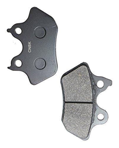 CNBK Rear Brake Pads Semi-met fit for HARLEY DAVIDSON Street Bike FLSTS 1450 Heritage Springer 00 01 02 03 2000 2001 2002 2003 1 Pair2 Pads