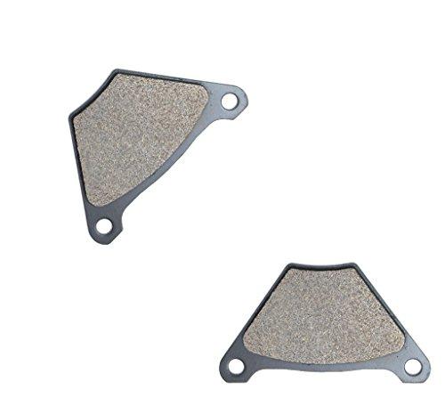 CNBK Rear Brake Shoe Pads Semi-Metallic fit for HARLEY DAVIDSON Street Bike FL1200 FL 1200 FLH Police 75 76 77 78 79 1975 1976 1977 1978 1979 1 Pair2 Pads
