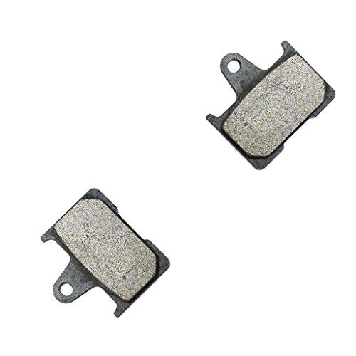 CNBK Rear Brake Shoe Pads Semi-Metallic for HARLEY DAVIDSON Street Bike XL1200 XL 1200 T Superlow 14 15 2014 2015 1 Pair2 Pads