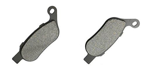 CNBK Rear Disc Brake Pads Carbon fit for HARLEY DAVIDSON Street Bike FKHX 1690 Street Bike Glide 11 12 13 14 15 2011 2012 2013 2014 2015 1 Pair2 Pads
