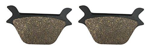 CNBK Rear Disc Brake Pads Resin fit for HARLEY DAVIDSON Street Bike FLSTN 1340 Heritage Softail Nost 93 94 95 96 97 98 99 1993 1994 1995 1996 1997 1998 1999 1 Pair2 Pads