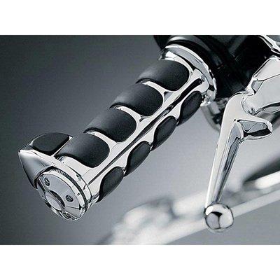 Kuryakyn 6212 Premium ISO Hand Grip With Throttle Boss For Harley-Davidson
