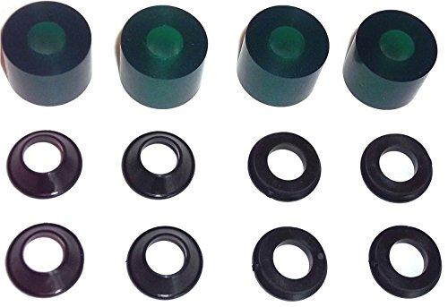 NEW KTM HANDLEBAR DAMPING REPLACEMENT GREEN SOFT ELASTOMER SXS05125203