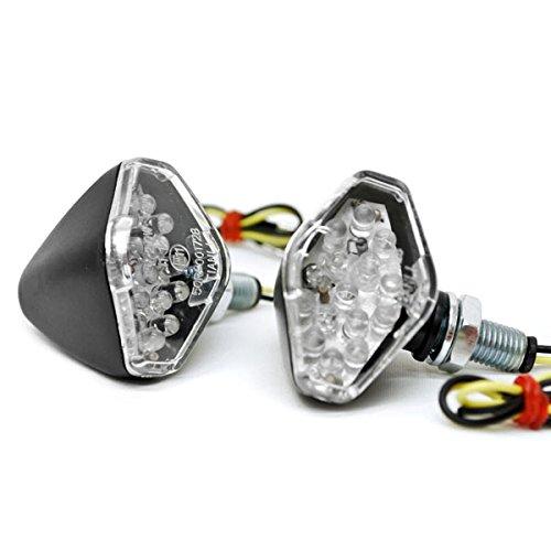 Krator Mini Custom LED Turn Signal Indicator Lights Lamp For KTM Super Enduro Supermoto Cross Country