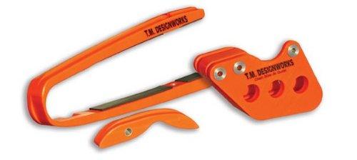 TM Designworks Factory Chain Slide-N-Glide Orange KTM 05-06