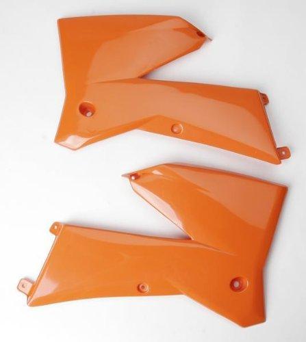 UFO KT03084-127 Replacement Plastic FOR KTM SHROUD RAD KTM 05 ORANGE