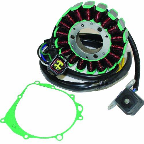 Caltric STATOR GASKET Fits SUZUKI DR-Z400 DRZ400 DR-Z400E DRZ400E DR-Z400S DRZ400S 2000-2009 2011-2012