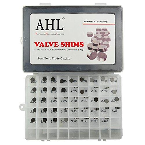 AHL 948mm OD Adjustable Valve Shim Kit for Suzuki DR-Z400E DRZ400 E 2000-2007 44pcs