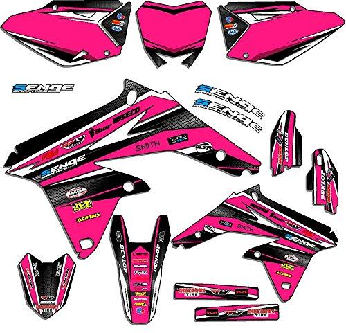 Senge Graphics 2005-2017 Suzuki DRZ 400 SM Vigor Pink Graphics Kit