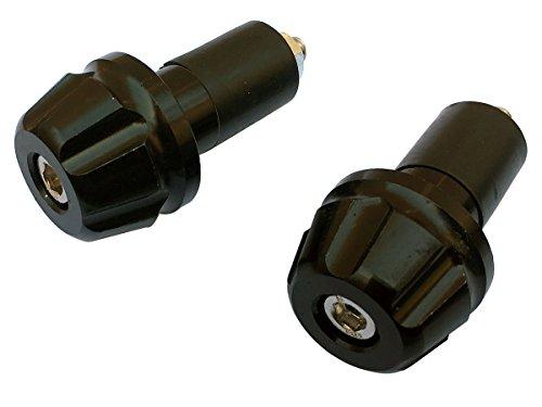 2PCs Black Handle Bar End Plugs Sliders for 2009 Suzuki DRZ400SM