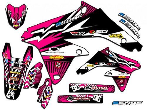 Senge Graphics 2000-2004 Suzuki DRZ 400 SM Mayhem Pink Graphics Kit