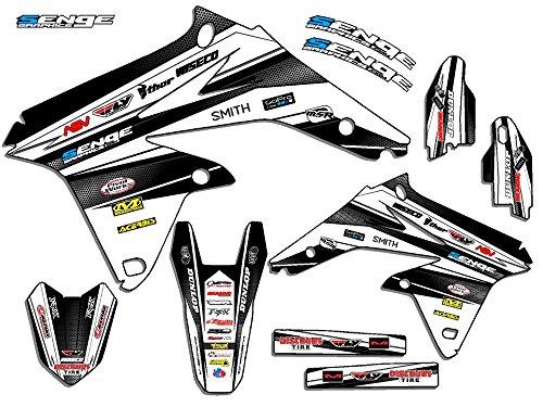 Senge Graphics 2000-2004 Suzuki DRZ 400 Vigor White Graphics Kit