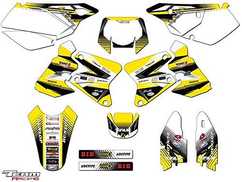 Team Racing Graphics kit for 2000-2004 Suzuki DRZ 400 ANALOG Complete Kit