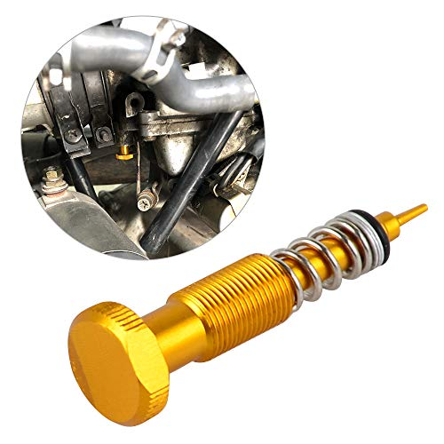 NICECNC Gold AirFuel Mixture Screw Adjuster for MIKUNI BSR BS CVR CV Carburetor Replace Suzuki DRZ400S DRZ400SM