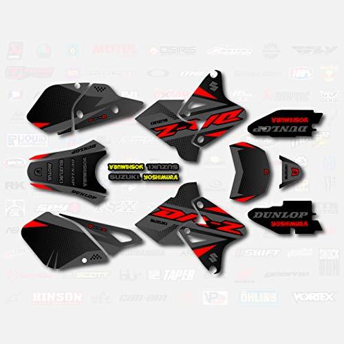 Red Gray Shift Graphics Kit fits Suzuki DRZ400SM Drz400s drz400 Supermoto DRZ