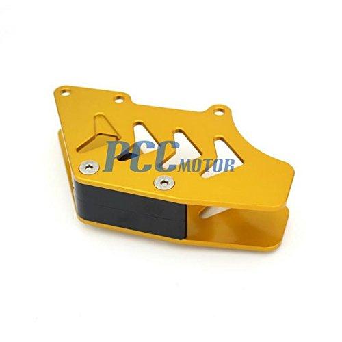 10Z GOLD CNC CHAIN GUARD GUIDE FOR SUZUKI RMZ250 RMZ 250 2007-2016 CG17