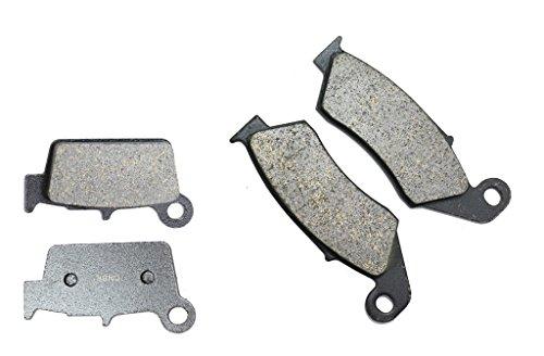 CNBK Semi Metallic Brake Pad Set fit for SUZUKI Dirt Bike RM-Z250 RMZ250 RM-Z 250 cc 250cc K4-K6 04 05 06 2004 2005 2006 4 Pads