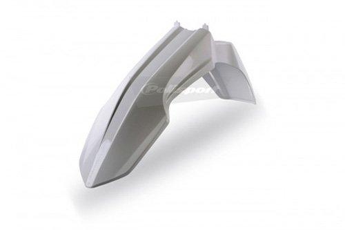 Polisport Front Fender White for Suzuki RMZ 250 450 08-11
