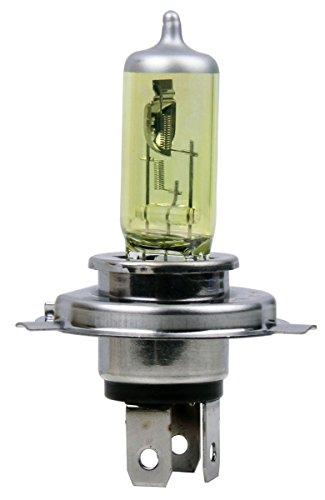 MOTORTOGO Golden Yellow Halogen Low Beam Headlight Bulb for 2009 SUZUKI DRZ400
