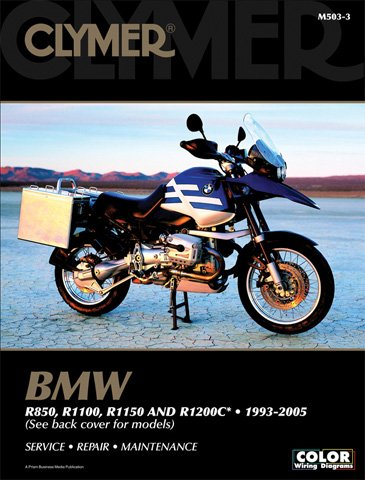 ALL-ALL BMW R850 CLYMER MANUAL BMW R850 R1100R1150 R1200C Manufacturer CLYMER Manufacturer Part Number M5033-AD Stock Photo - Actual parts may vary