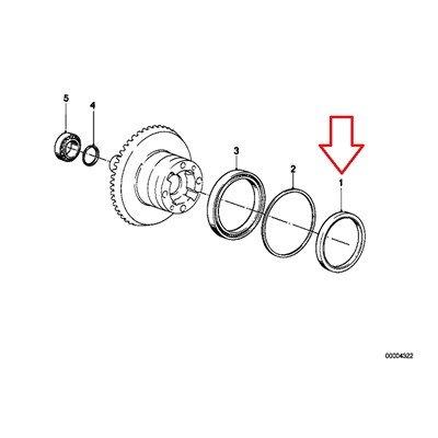 BMW Genuine Crowngear Spacer Rings Shaft Seal R1100GS R1100R R850 R1100RS R1100S R1100RT R1200C R1200 Montauk Independent K1200LT K1200RS R1200CL K1200GT K1200RS R1150GS R1150 Adventure R1150RS