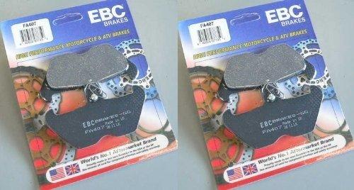 EBC Kevlar Organic Front Brake Pads 2 Sets for Both Calipers 1996-2002 BMW R1200C Classic  1998-2002 BMW R1200C Euro  FA407