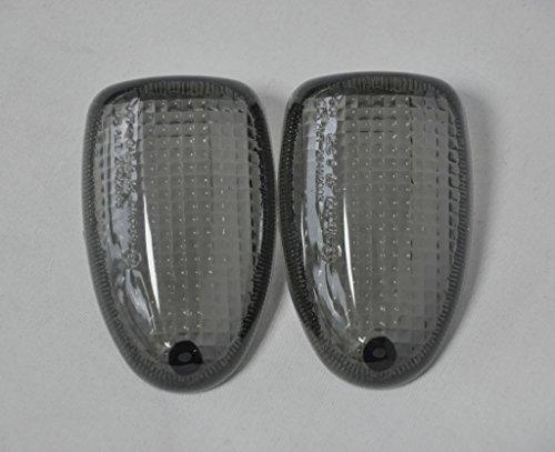 Topzone Smoked Motorcycle Indicators Turn Signal Lens For Bmw R1100R R850R R1150Gs R1150R R1150Gs R1200C R1100S Rear 97-04 K1200Rs
