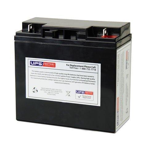 12V 18Ah Nut Bolt SLA Replacement Battery for BMW K75 R850 K1100 R1100 R1150 Motorcycles